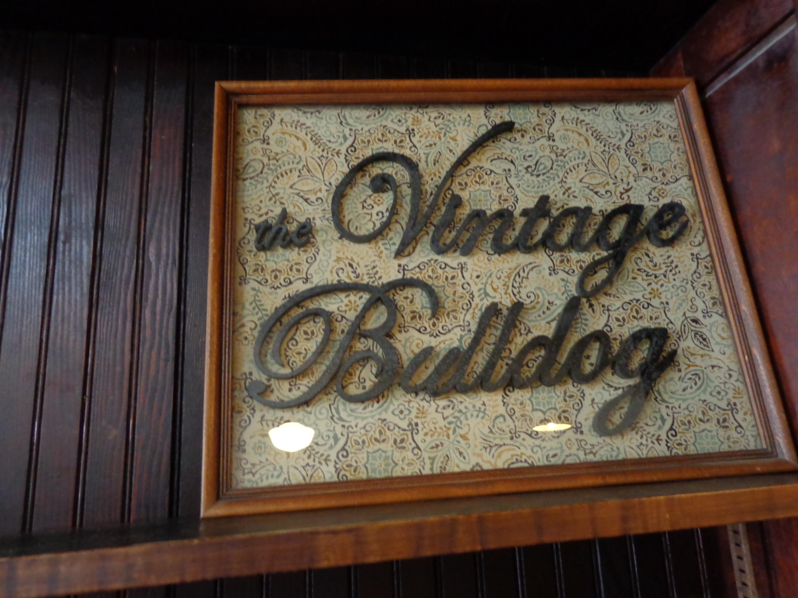 Vintage Bulldogs 319 Broadway Cottonwood Falls, Kansas 66845
