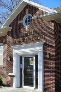 Burnley Memorial Library - Cottonood Falls, Kansas